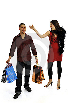 Shopping Couple Stock Photos - Image: 8545853