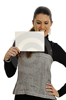 Business Woman Got Shocking News Royalty Free Stock Images - Image: 8546089