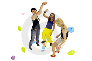 Women Playing Together Stock Photo - Image: 8546330