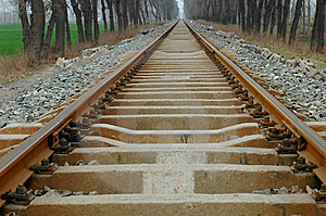 Railway Stock Photo - Image: 8546630