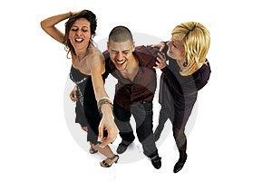 Disco People Stock Image - Image: 8546861