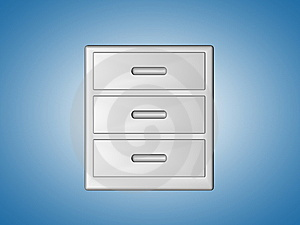 File Cabinet Royalty Free Stock Images - Image: 8547229