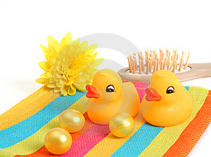 Two Yellow Ducks Stock Images - Image: 8547514
