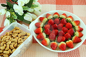 Strawberry Nut Stock Images - Image: 8547654