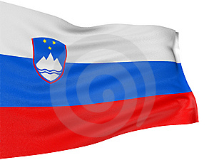 3D Slovene Flag Royalty Free Stock Photo - Image: 8547815