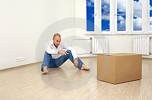 A Move-in Royalty Free Stock Photos - Image: 8548338