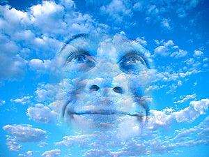 Man And Sky Stock Photos - Image: 8548493