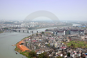 China City Royalty Free Stock Photography - Image: 8549177