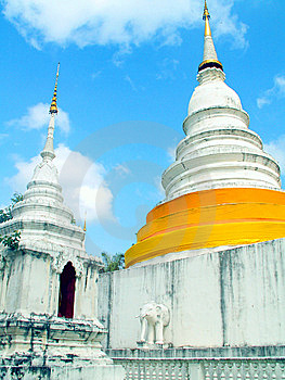 Wat Phra Singh Royalty Free Stock Images - Image: 8549869