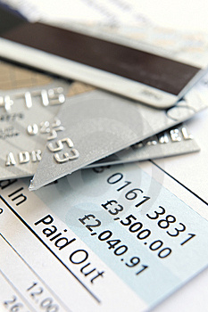 Cut Up Credit Card Royalty Free Stock Image - Image: 8550306
