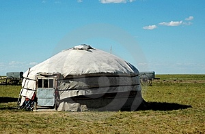 Yurt Stock Photo - Image: 8550320