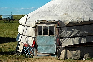 Yurt Royalty Free Stock Photos - Image: 8550398