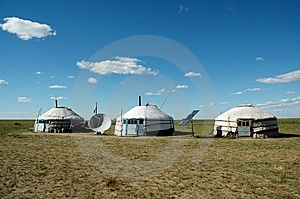 Yurt Royalty Free Stock Photos - Image: 8550428