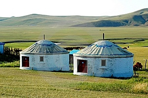 Yurt Stock Photo - Image: 8550460