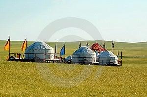 Yurt Foto de archivo libre de regalías - Imagen: 8550475