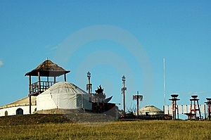 Yurt Stock Photo - Image: 8550540