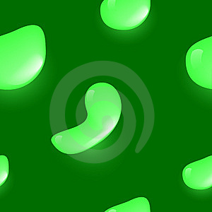 Green Drops Royalty Free Stock Photos - Image: 8550918