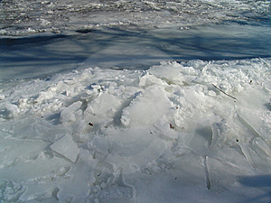 Frozen River Stock Images - Image: 8551354