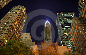 Financial District Stock Image - Image: 8551671