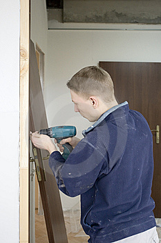 Installs Door Stock Photography - Image: 8552072