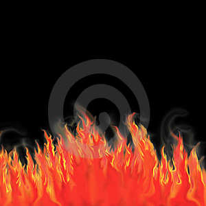 Fire Wall Stock Photos - Image: 8552233