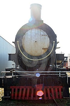 Old Black Train Royalty Free Stock Photo - Image: 8552725