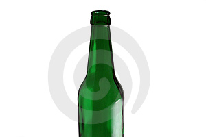 Green Bottle Royalty Free Stock Photo - Image: 8553125