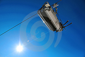 Alpine Chairlift Stock Images - Image: 8553734