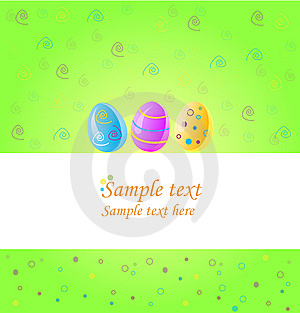 Easter Card Stock Images - Image: 8553744