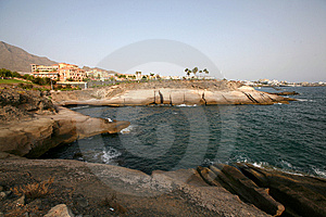 Stoned Coast Royalty Free Stock Photos - Image: 8554008