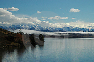 Alps With Lake In The Foreground Royalty Free Stock Image - Image: 8554656
