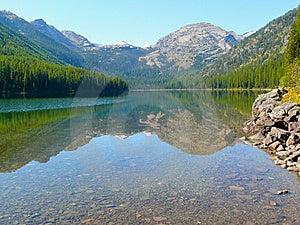Mountain Lake Reflected Stock Photos - Image: 8554993