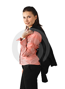 Attractive Business Woman Royalty Free Stock Image - Image: 8555076