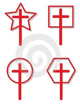 Cross Symbol Royalty Free Stock Photo - Image: 8555725