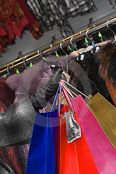 Clothes Shopping 2 Royalty Free Stock Photos - Image: 8555798