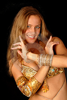 Bellydancer Royalty Free Stock Photography - Image: 8555927