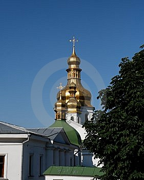 Kiev Pechersk Monastery In Kiev Royalty Free Stock Images - Image: 8556159