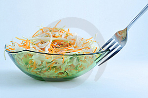 Salad Royalty Free Stock Photo - Image: 8556385