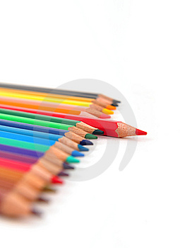 Colorful Pencil Stock Photo - Image: 8556460