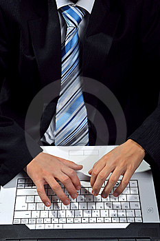 Computer Typing Stock Photography - Image: 8556592
