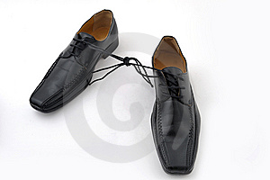 Shoes Tied Up Royalty Free Stock Photo - Image: 8556805