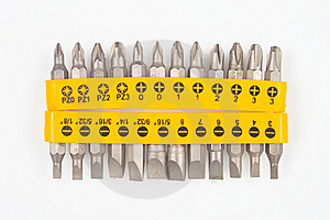 Screw Driver Bits Stock Photo - Image: 8556980