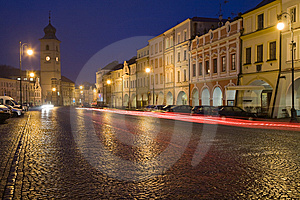 Town Square Royalty Free Stock Photography - Image: 8557287
