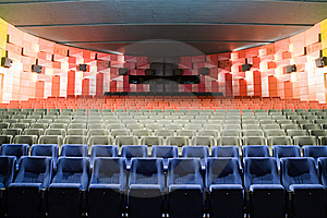 Cinema Interior Stock Photo - Image: 8557530