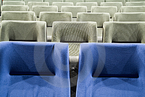Seat 13 Stock Photography - Image: 8557592
