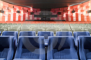 Cinema Interior Stock Image - Image: 8557641