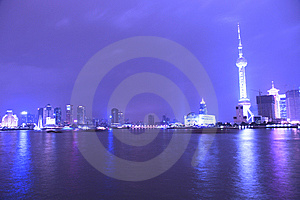 Night View Of City Stock Photos - Image: 8557653