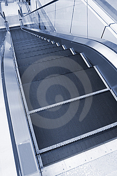 Escalator Stock Photography - Image: 8557752