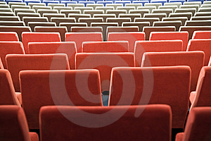 Cinema Interior Royalty Free Stock Photography - Image: 8557847