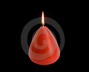 Burning Candle Royalty Free Stock Photo - Image: 8557905